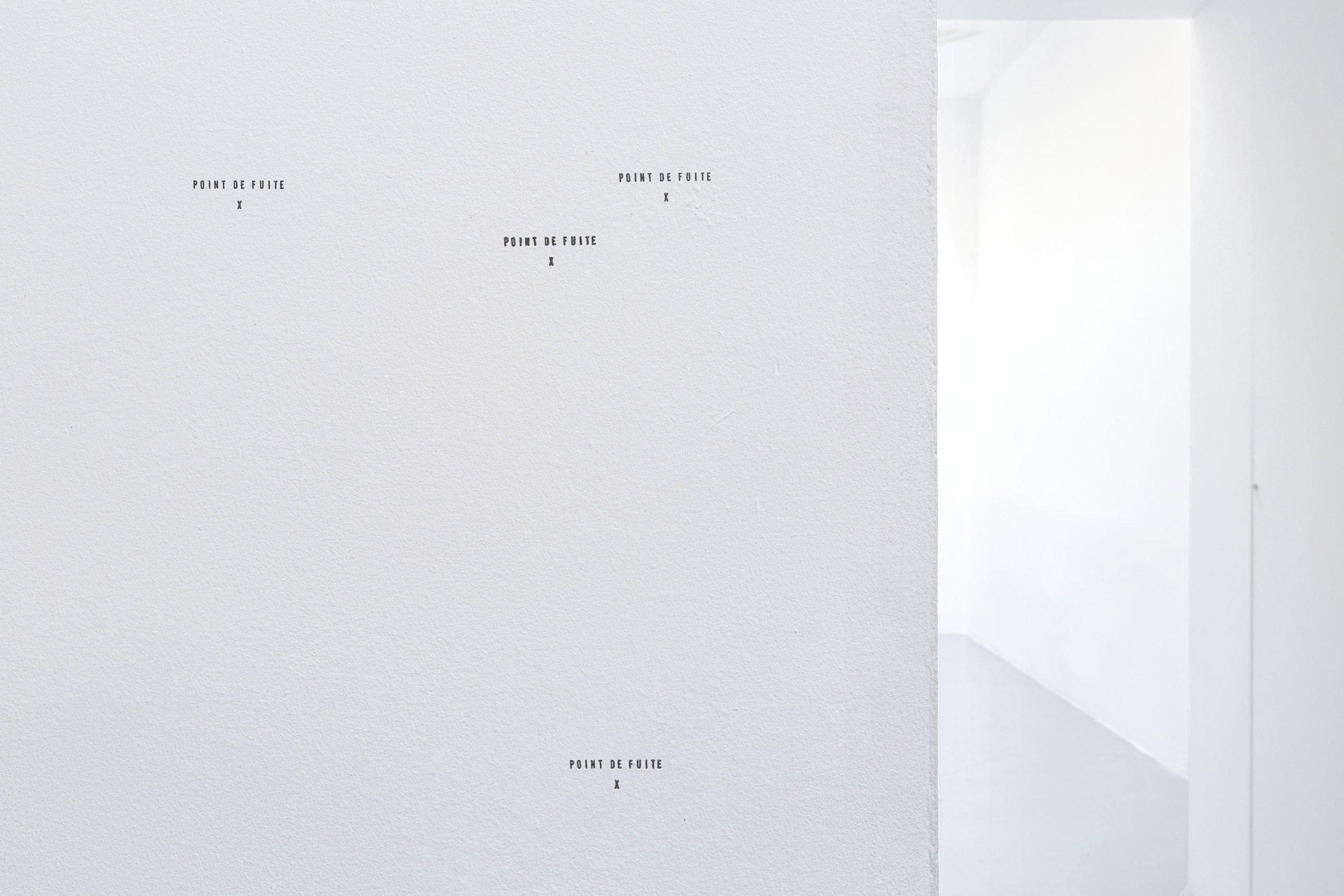 Elsa Werth - Point de fuite, vue exposition HD