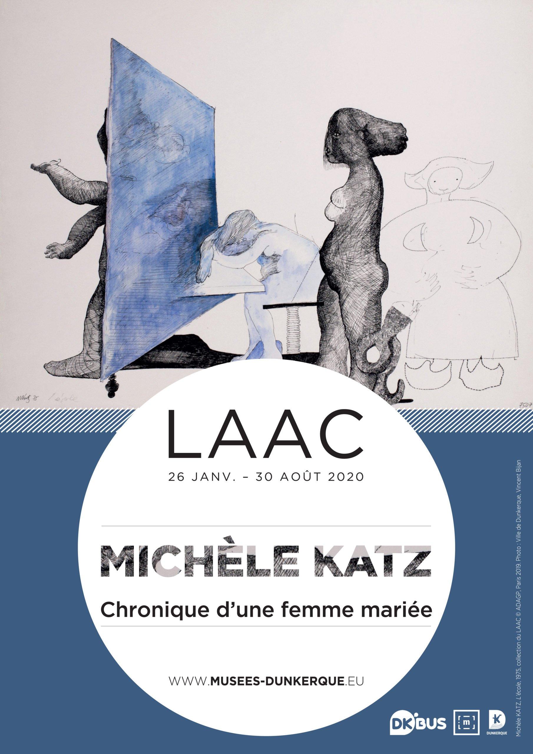 Visuel-officiel-michèle-katz_chronique-d-une-femme-mariee_laac_dunkerque